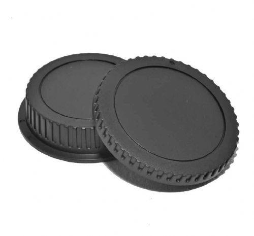 Body & Back Cap set for Canon AF Lens & Body Cap for Canon EOS